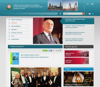 Azərbaycan Respublikası Xarici İşlər Nazirliyinin veb-saytı